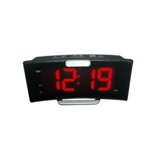 Geemarc A296 Wake And Shake Curve Alarm Clock