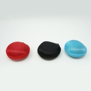 Round Carry Case Holder For Hearing Aids