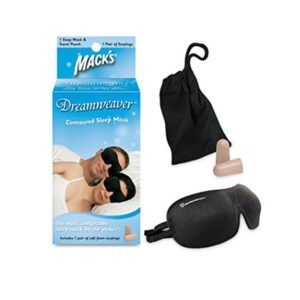 Macks Dreamweaver Sleep Mask with Ear Plugs