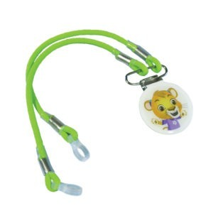 Phonak Kids Hearing Aid Retention Cord & Clip – Leo the Lion