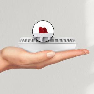 Bellman & Symfon Visit Smoke Alarm Transmitter – with Optical Heat Sensor B1481