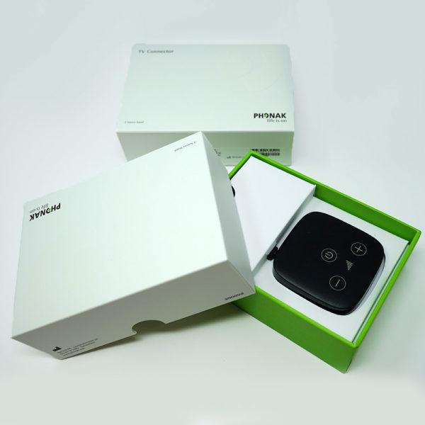 phonak tv connector box