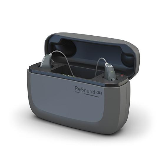 GN ReSound LiNX Quattro Charging Case