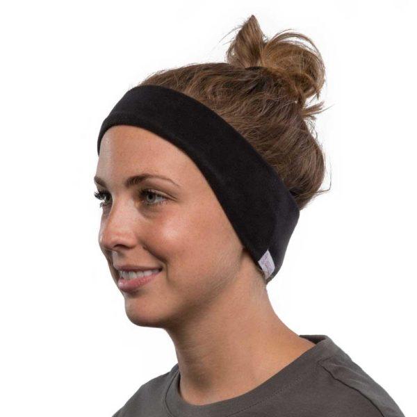 SleepPhones Wireless Bluetooth Headband Headphones - Black