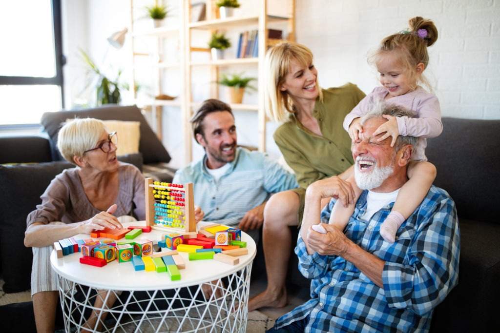 Bellman Visit Happy Family