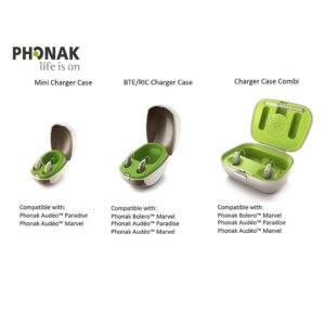 Phonak BTE RIC Charger Case