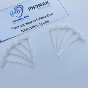 Phonak Retention Locks for Marvel/Paradise Hearing Aids