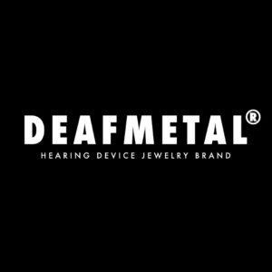 DeafMetal® Bad Boy – Hearing Aid Pendant