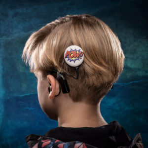 DeafMetal® Pow! – Cochlear Implant Jewellery