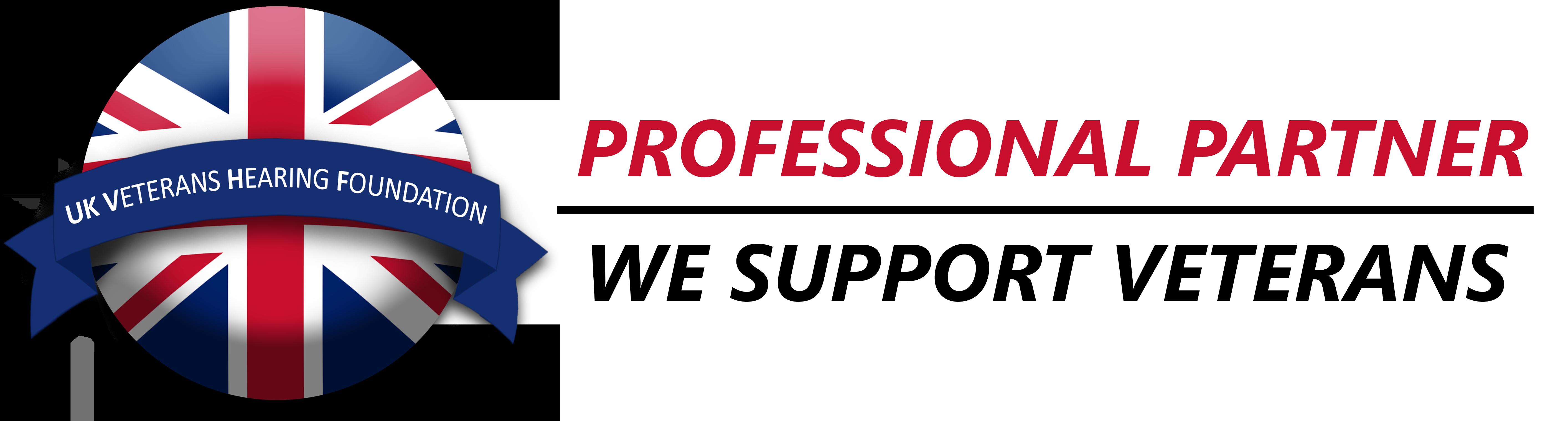 UK Veterans Hearing Foundation - Friends of the foundation logo